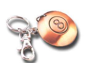 Bronze Keyring with Tip Scuffer
