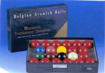 "2"" 1/16 Tournament Champion Snooker Balls"