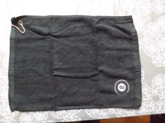 8 ball towel